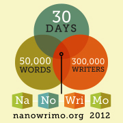Logo for the National Novel Writing Month