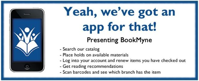 Graphic with a description of the main features of Bookmyne