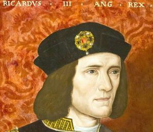 An image of English king, Richard III