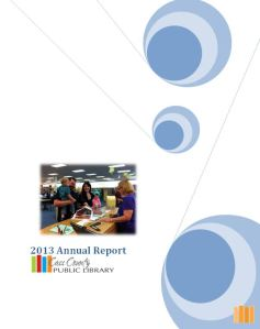 The 2013 Annual Report of Cass County Public Library.