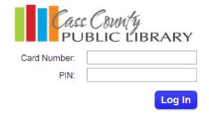 Login to your own library account.
