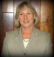 Board president, Mary Dobson
